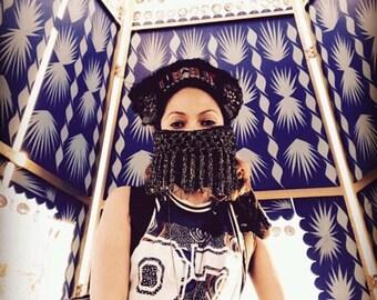Dustmask NEW*Net Tassel  Dust Mask-Playa Ready? -Ready For shipping