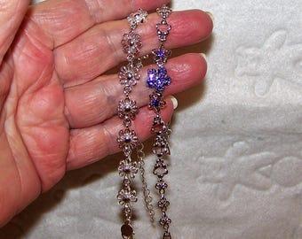 Two Silver Bracelets