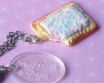 Pop Tart Necklace - Polymer Clay Jewellery