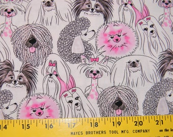Pretty Pooches by Michael Miller Cotton Fabric