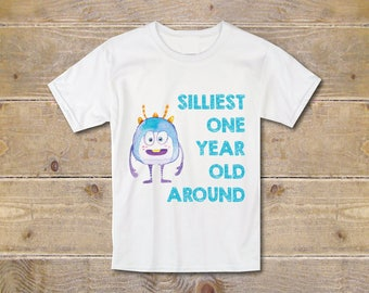 First Birthday Shirt, First Birthday Outfit, Boy's First Birthday Shirt, Boy's Shirt, 1st Birthday Shirt, Monsters, Party Shirt