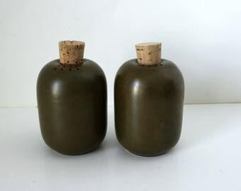 Heath S/P Shakers, Mid Century Salt & Pepper Shakers