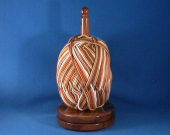 Select Walnut Yarn/Thread Holder - Specialty Lacquer Finish
