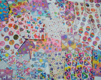 Lisa Frank Sticker Pack, Over 400 Stickers!!!