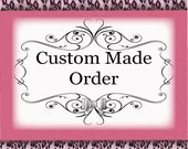 Custom order for Barbara