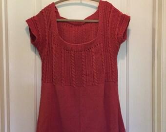 Women's handknit top