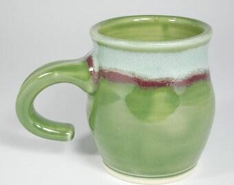 "Handmade Pottery Mug - 4"" Tall - Handmade Mug - Clay Mug - Stoneware Mug - Pottery Coffee Mug - Handmade Coffee Mug - Coffee Cup - In Stock"