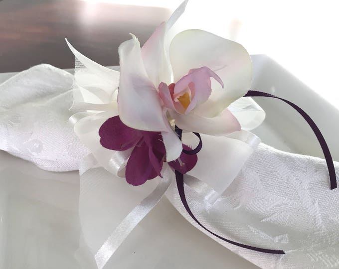 Featured listing image: Napkin Rings - Orchid- Purple- Wedding Decoration - Wedding Showers - Easter