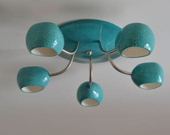 Flush Mount Ceiling Light - Clover Five