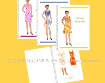 Barbara Paper Doll