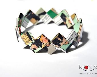 * ORIGAMI bracelet * Comics comic book comic #26