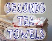 Seconds Tea Towel - Choose Your Design