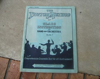 1936 the Dictor method of class instruction for band and orchestra book 3