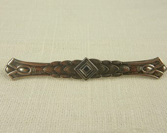 Antique Victorian Sterling Bar Pin