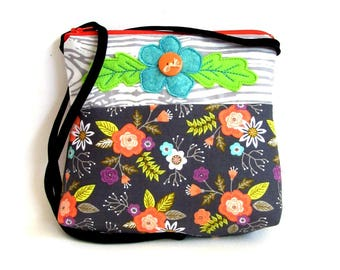 girl's boho purse cross body bag
