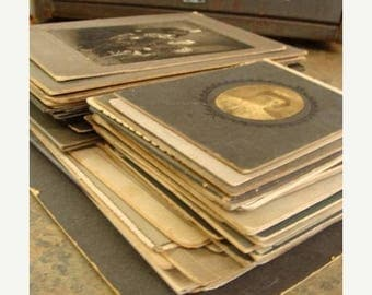 ONSALE 50 Antique and Vintage Cabinet Photos Genealogy N041