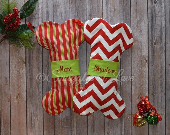 Dog Christmas Stockings Personalized Dog Stockings