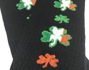 Handmade Baby Toddler Child Leg and Arm Warmers - Luck of the Irish