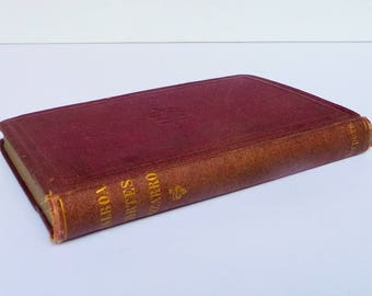 1800s Antique Book, Lifes of Balboa Cortes Pizarro - Harper & Brothers - Hardcover