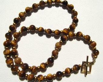 GoldenTiger's Eye Tiger Eye Necklace