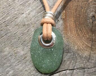 Unizex Leather Surfer Necklace