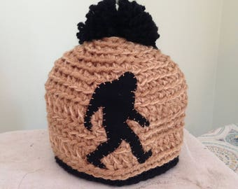 Crocheted Baby Bigfoot Hat
