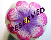 Reserved Listing for Lisa Shank