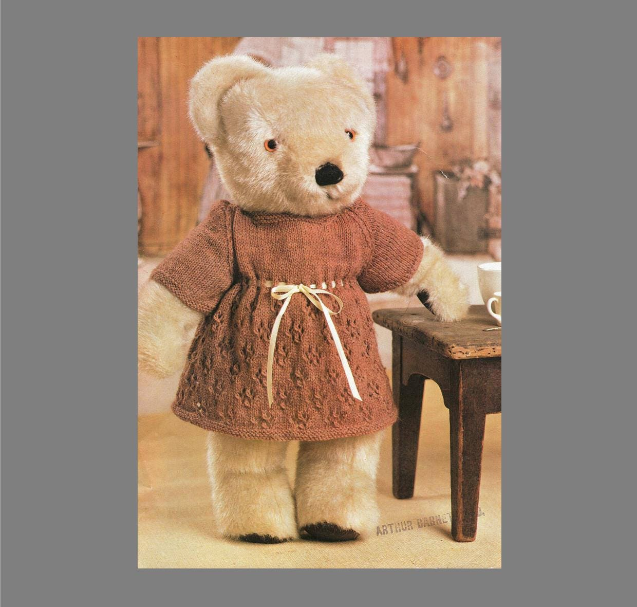 Post free knitting pattern teddy bear clothes knitting zoom bankloansurffo Gallery