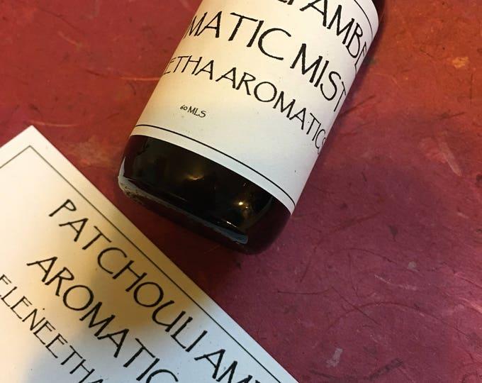 Anastasias Aromatic Mists Wild Lemongrass Organic Lavender Patchouli Amber Room Sprays