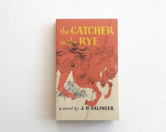 The Catcher in the Rye. Vintage Paperback. 1991. J.D. Salinger.  Modern Classic.