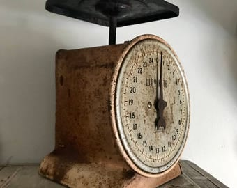 Scale, Antique Scale, Family Scale, Industrial Kitchen.