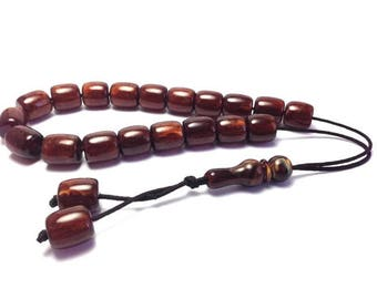Greek Komboloi - Worry beads - brown - anti stress - stop smoking