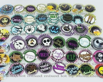 100 Pre-cut Bottle cap images, Bottle cap images, Halloween images, Halloween bottle cap images, Party supplies, Cake Topper, Pre-cut Images