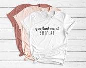 You Had Me At Shiplap T-Shirt - Women's Farmhouse Inspired Tee Shirt - Shiplap Shirt - Short Sleeve - Fixer Upper Inspired - Plus Size