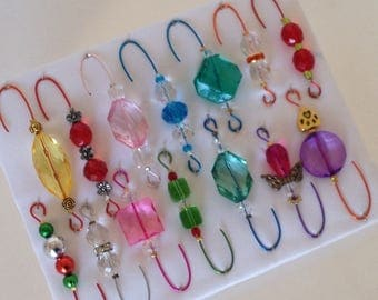 Only One Box Variety*5 - Beaded Ornament Hangers -  FREE SHIPPING