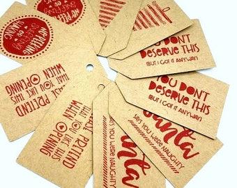 Christmas Gift Tags, Christmas Labels, Christmas Packaging, Gift Tags, Holiday Gift Tags, Holiday Packaging, Christmas Tag Set, Tag, Label