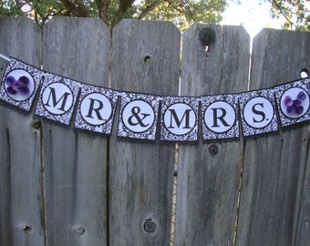 Damask banner (any message)