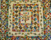 Tree of Life Patchwork Quilt - California King Size