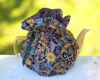 Asian Gold Tea Cozy, ready made