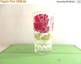 50% OFF EVERYTHING Beautiful Vintage 1940s 1950s Hazel Atlas Libbey Federal Sour Cream Jelly Jam Glass Tumbler