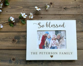 Personalized Family Picture Frame, Christmas Gift Family Frame, Personalized Family Frame, Dad Gift, Mom Gift, Personalized Grandparent Gift