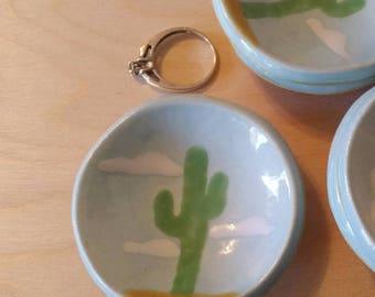 mini ring holder - little cactus