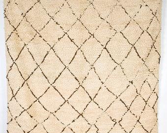 Wabi Sabi Beni Bngchra -  Beni Ourain loop pile rug