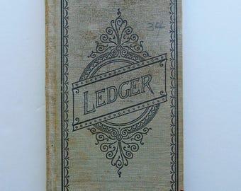 RESERVED. 1920 Vintage Doctor's  Ledger