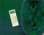 BLUEGRASS STRIPES -- Color Changing Cotton yarn --  480 yards/100 gr --  Fingering Weight