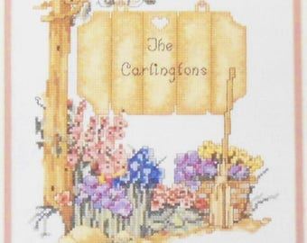 """The Sign Post Elsa Williams Counted Cross Stitch Kit #02053-8 X 10"""" NEW SEALED"""