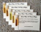 Natural Perfume  - Samples - JoAnne Bassett Perfume, Sacred Elixir Collection, aphrodisiac, civet deer musk oud, beaver castoreum, animalic