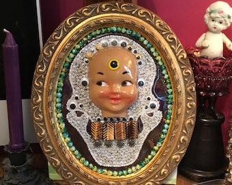 Google eye skull baby