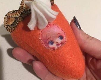 Pumpkin Pie Plush Kewpie Baby