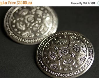 BACK to SCHOOL SALE Two (2) Viking Brooches. Silver Apron Pins. Silver Shield Norse Shoulder Brooches. Renaissance Faire Jewelry. Historical